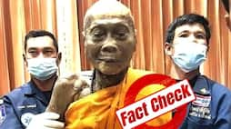 <p>Fact Check, even 100 years after his death, is the Buddhist monk still smiling, photo goes viral</p>