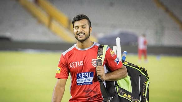 IPL 2021 Mayank Agarwal helps punjab kings to set 167 runs to Delhi capitals ckm