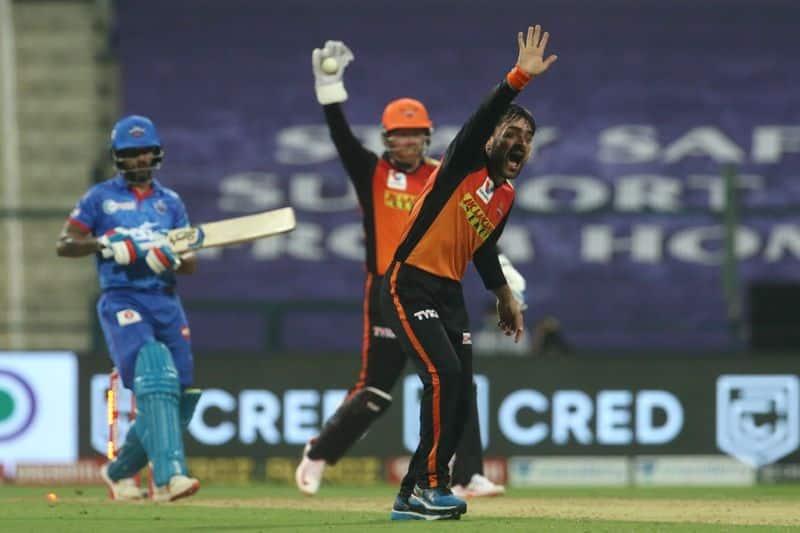 IPL2020 Hyderabad vs Delhi live updates, SRH beat DC by 15 runs, register first win