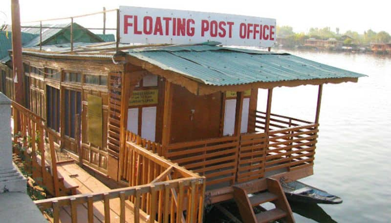 4. World's Only Floating Post OfficeIndia has the most significant number of post offices in the World, but did you know it has its very own floating post office on Dal Lake in Srinagar. Perched on a houseboat, it also includes a philately museum within itself.