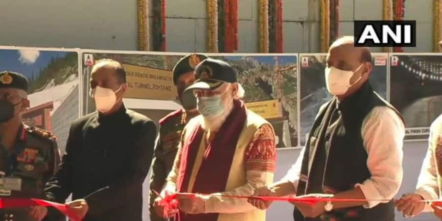 Live Update on Atal Tunnel inauguration by PM Narendra Modi from Solang Valley, Manali