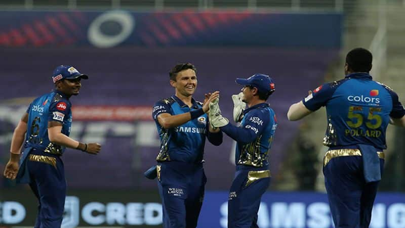 Mumbai Indians defeat Rajasthan Royals by 57 runs in IPL 2020 spb