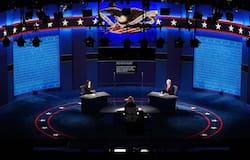 <p>US Presidential Elections, Vice Presidential Debate, Republic Party, Mike Pence, Democrat Party, Kamala Harris<br /> &nbsp;<br /> &nbsp;</p>