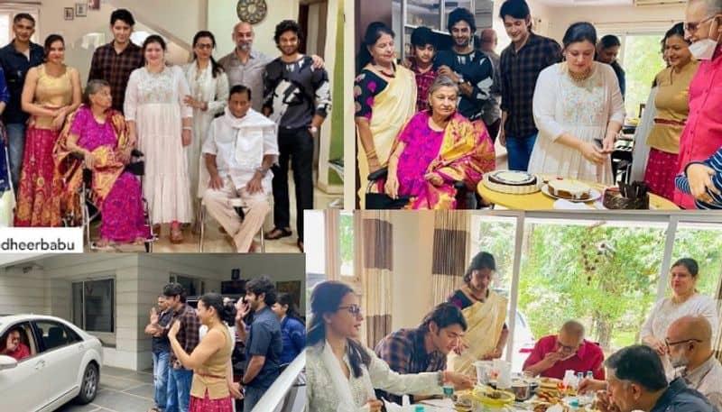 Tollywood mahesh babu sister priyadarshi birthday celebration with family vcs