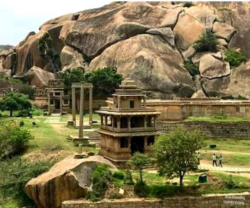 It is said that rocks lying around here were used as weapons and tools by both Bhima and Hidimb