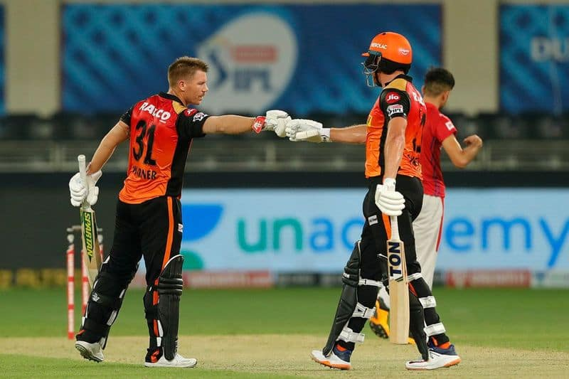 Find out the turning point of the match between SRH and KXIP