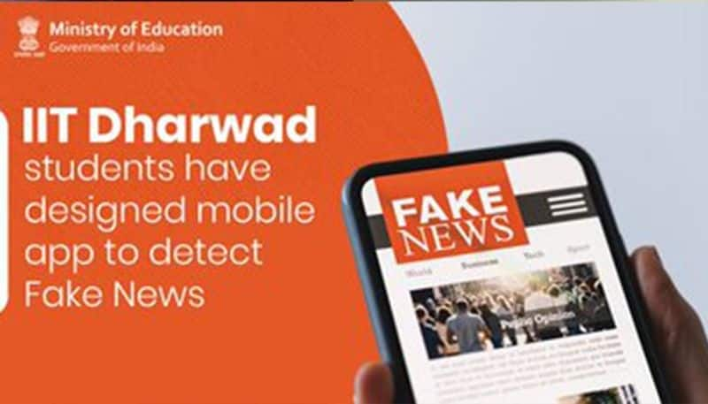 Students of IIT Dharwad invent app that identifies fake news