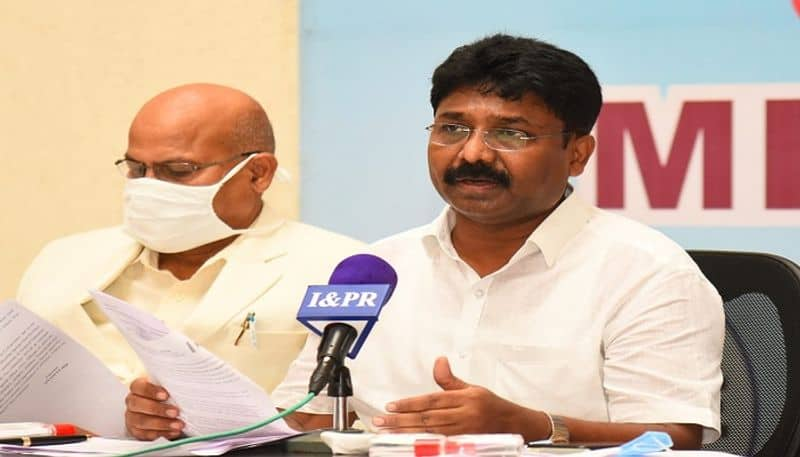 ap education minister adimulapu suresh comments on 10th, inter exams - bsb
