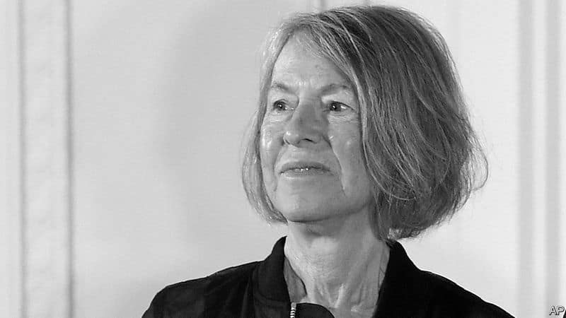 about american nobel prize winning poet  louise gluk vcs