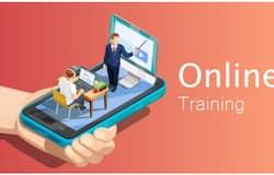 <p>online training</p>