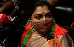 <p>Kushboo explained why she &nbsp;joins BJP</p>