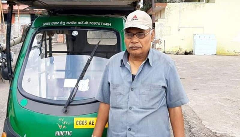 Chhattisgarh Auto driver turns adversity into opportunity, harnesses solar energy to earn rich benefits