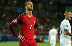 <p>In what could be a major setback for Portugal, star footballer Cristiano Ronaldo has tested positive for COVID-19. Consequently, he is all set to miss his side's upcoming clash against Sweden in the UEFA Nations League, on Thursday.</p>