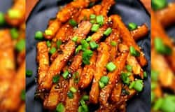 <p>Honey chilli potato</p>