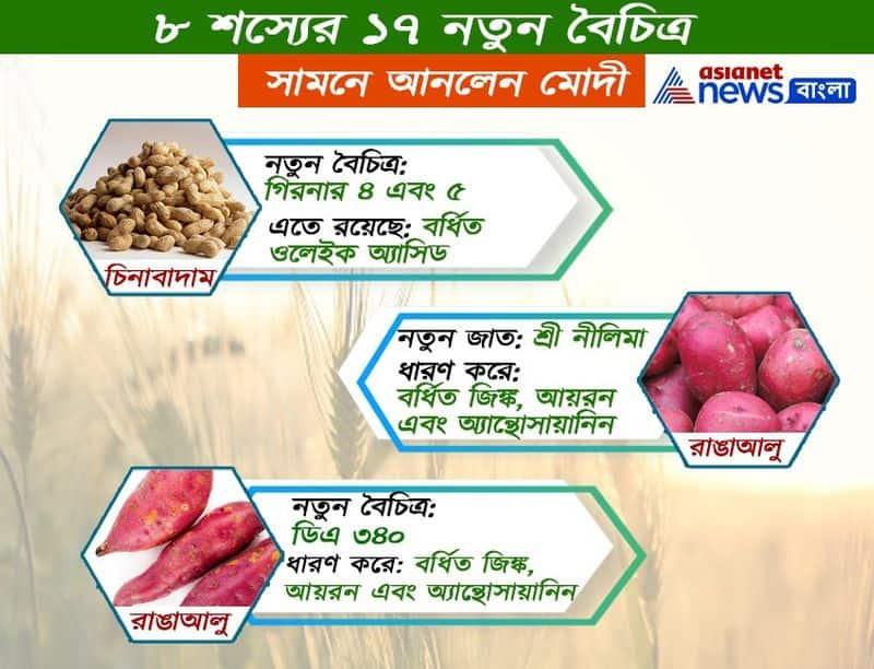 India made 17 new super crops to fight malnutrition in india, said PM Modi ALB