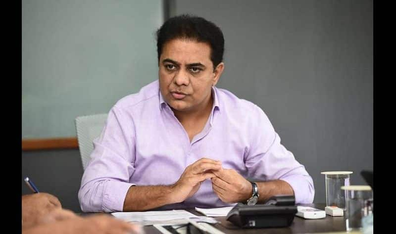 Minister KTR Strong Counter BJP MLC Ramachandrarao