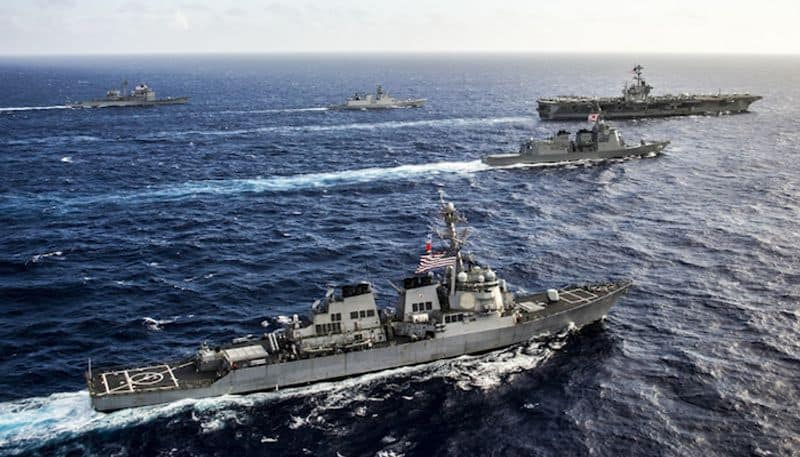 Australia to join India, US and Japan in Exercise Malabar in Indian Ocean