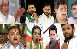 <p><strong>पटना (Bihar) ।</strong> बिहार विधानसभा चुनाव (Bihar Assembly Elections) की 243 सीटों पर तीन चरण में वोटिंग होनी है। दूसरे चरण में तीन नवंबर को 94 सीटों पर होने वाले चुनाव में चार मंत्रियों, दर्जन भर बाहुबलियों और प्रमुख नेताओं के नाते-रिश्तेदारों की प्रतिष्ठा फंसी हुई है। इनमें सबसे ज्यादा लालू परिवार के पराक्रम की परीक्षा होनी है। जी हां आरजेडी (RJD)&nbsp;सुप्रीमो लालू प्रसाद यादव (Lalu Prasad Yadav) के बेटे तेजस्वी यादव (Tej Pratap Yadav) का राघोपुर (Raghopur) में मुकाबला भाजपा (BJP) तो हसनपुर (Hasanpur) से चुनाव लड़ रहे तेजप्रताप (Tej Pratap) का जेडीयू (JDU) प्रत्याशी से है। ऐसे में सबसे दिलचस्प मुकाबला इसी चरण में देखने को मिल सकता है। बता दें कि मुन्ना शुक्ला (Munna Shukla)&nbsp;रीतलाल (Reetlal) जैसे कई बाहुबली भी इसी चरण में चुनाव लड़ रहे हैं, जिसके बारे में हम आपको बता रहे हैं।</p>