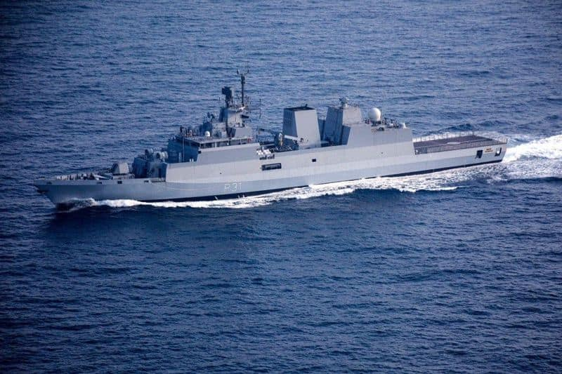 Indigenously built INS Kavaratti commissioned