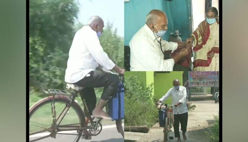 Maharashtra 87-year-old doctor travels barefoot, distributing medicine to the poor