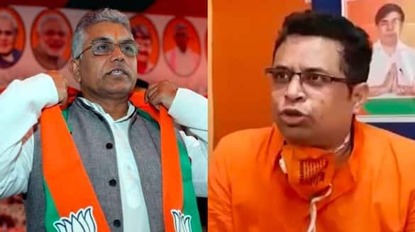 Soumitra Khan will not attend meeting with Dilip ghosh, he left WhatsApp group of bankura district bmm