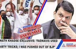 Eknath Khadse Exclusive: 'Fadnavis used dirty tricks; I was pushed out of BJP'