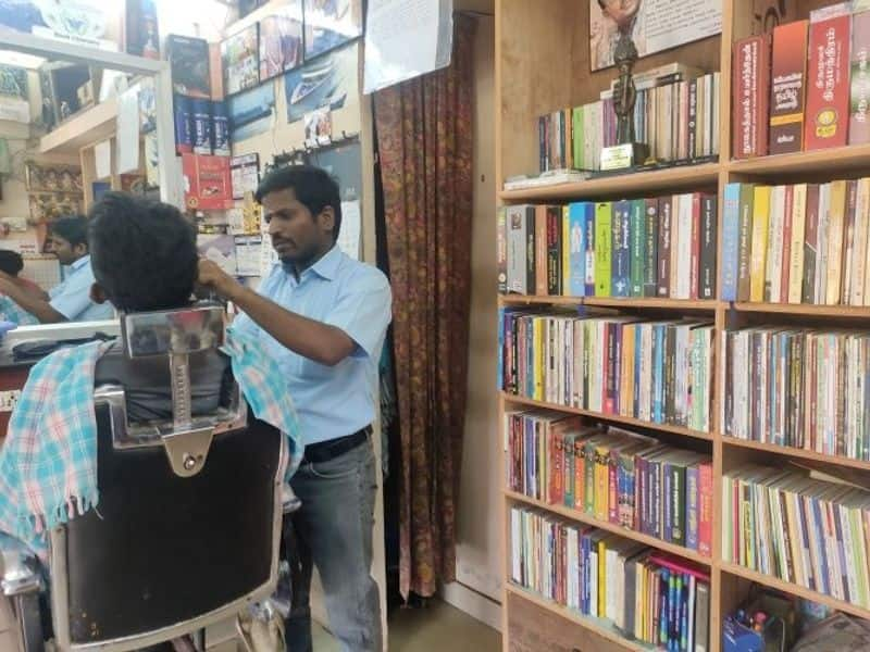 Why library salon owner Ponmariappan makes India proud