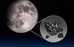 <p>US space agency NASA has confirmed the presence on water on lunar surface.</p>