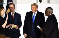 <p>Judge Amy Coney Barrett, a conservative appeals court judge and protégée of former Justice Antonin Scalia, was confirmed on Monday to the Supreme Court</p>