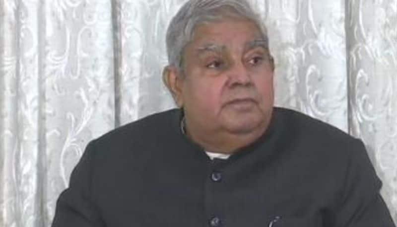stand road fire governor jagdeep dhankar visit railway office bsm