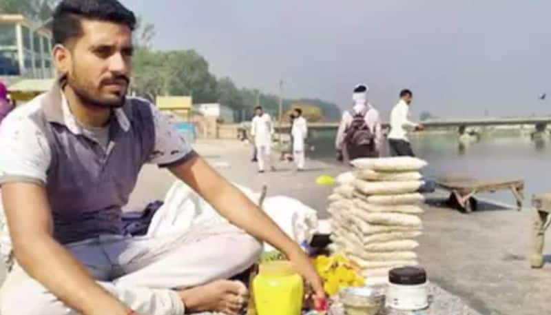 Putting his own life at risk, he has saved several people from drowning in Ganges