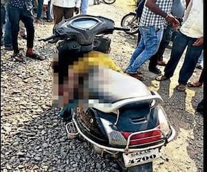 khamanpur police station ASI Bhagyalaxmi dies in road accident