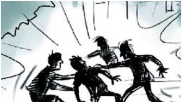 four arrested for attacking on constable in patancheru lns