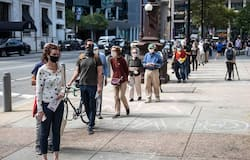 <p>The US is on track to see some of the highest voter engagement since the early 1900s. According to Michael P McDonald, the University of Florida professor who compiles data for the Elections project, over 101 million people have voted. The 101,167,740 votes cast include 35,923,053 in-person votes, 65,244,687 mail ballots and 26,858,126 outstanding mail ballots</p>
