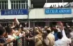 <p>Assam, Silchar Airport Video, AIUDF Chief, All India United Democratic Front, MP Badruddin Ajmal<br /> &nbsp;</p>