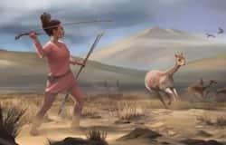 <p>woman hunter</p>