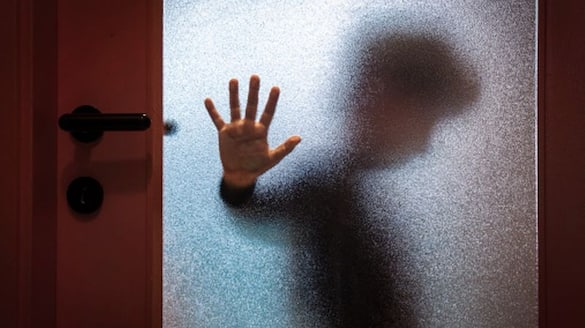 12 year old girl abused by driver and he locked in the toilet. police rescued.