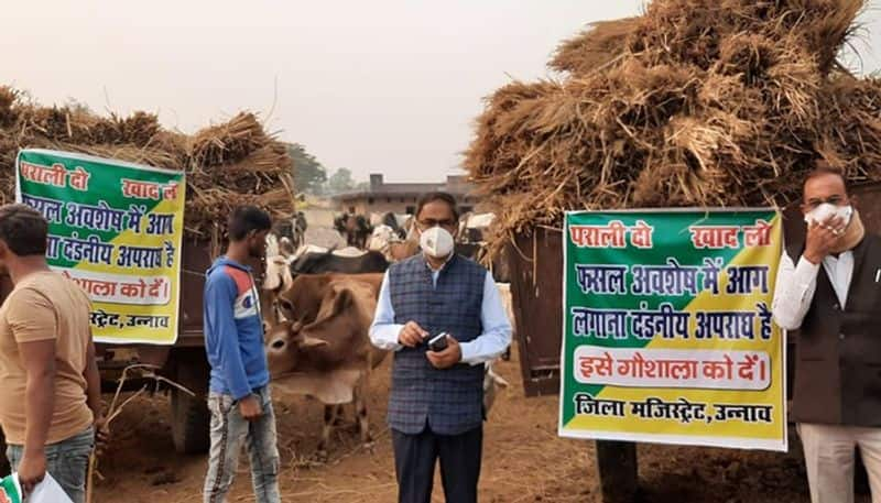 Uttar Pradesh: Parali Do Khaad Lo initiative helps take care of the stubble issue