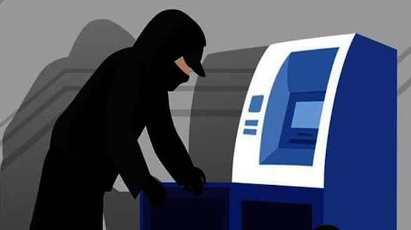 miscreants broke into the ATM, looted Rs 32 lakh bpsb