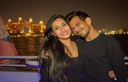 """<p>Recently, the couple shared another picture on Instagram. The images have been clicked on the sea, near Dubai, on a boat. Chahal captioned his photo with """"My home and adventure all at once.""""</p>"""