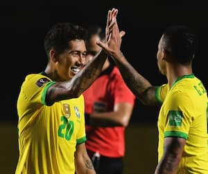 Firmino scored, and Brazil won their 3rd consecutive match in WCQ
