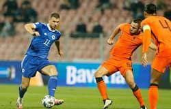 <p>Netherlands vs Bosnia-Herzegovina</p>