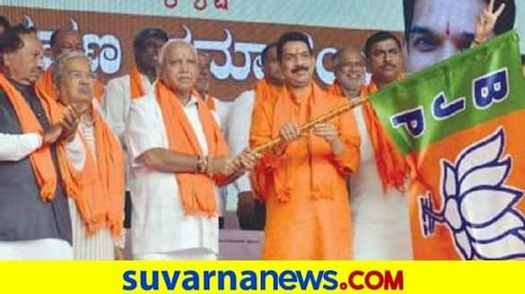 Minister Post fight In Karnataka BJP after By Poll Results rbj