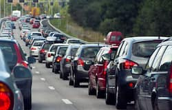 <p>Britain Traffic</p>