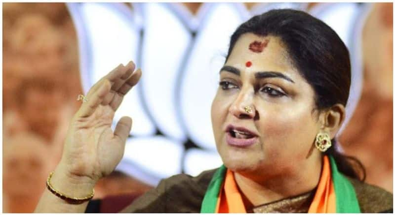 kushboo Request her party leaders to  don't criticize sonia gandhi