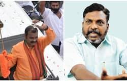 <p>Murugan and Thirumavalavan</p>
