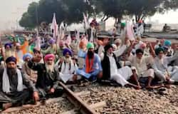 <p>Punjab farmers protest</p>