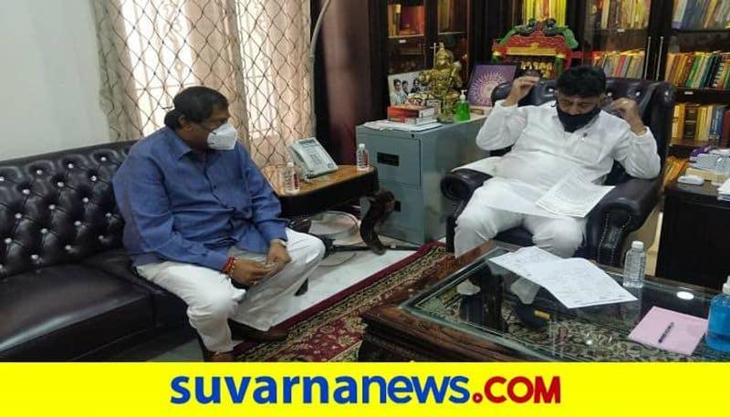 Akhanda Srinivas Murthy React on DK Shivakumar Statement grg