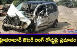 <p>Two die in road accident on Hyderabad outer ring road&nbsp;</p>