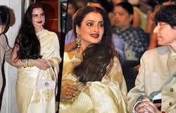 """<p style=""""text-align: justify;"""">Veteran actress Rekha has been linked up with many actors over these past decades, including Amitabh Bachchan, Jeetendra, Akshay Kumar. But, did you know that she has a secret relationship with her female secretary cum manager Farzana?<br /> &nbsp;</p>"""